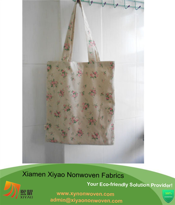 Handmade Shoulder Bag Cotton and Linen Handbag Tote Shopping Bags