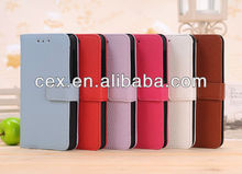 Stand Leather Wallet Case For Blackberry Z10