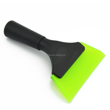 Squeegee with Beveled Rubber Blade Black Plastic Handle Durable Squeegee for Window Tinting,Car Vinyl,Window Glass Tint Tool