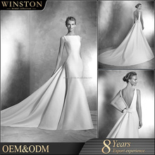 Top Quality With Wholesale Price wedding dresses with 3 4 length sleeves plus size