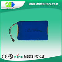 DTP supplier 555075-2300mAh-3.7V rechargeable battery pack
