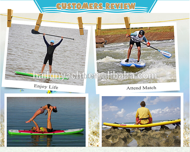Stand up paddle boards 11' inflatale paddle board set with aluminum paddle