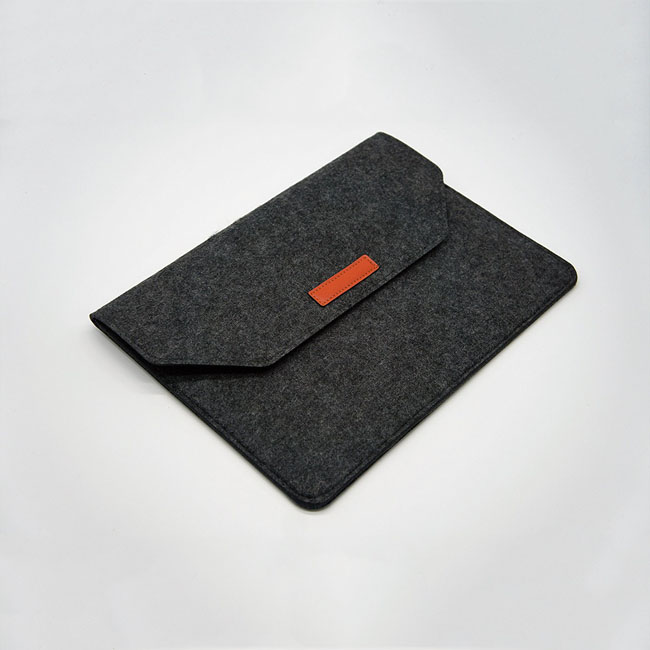Universal tablet case portable 15.6 inch felt laptop sleeve for notebook