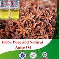 100% Natural & purebulk anise oil with low price, star anise oil, Chinese star anise oil