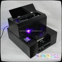 A3 A4 Small Size LED UV Digital Flatbed Printer