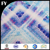 Custom high quality digital printing 190t polyester pu coated fabric