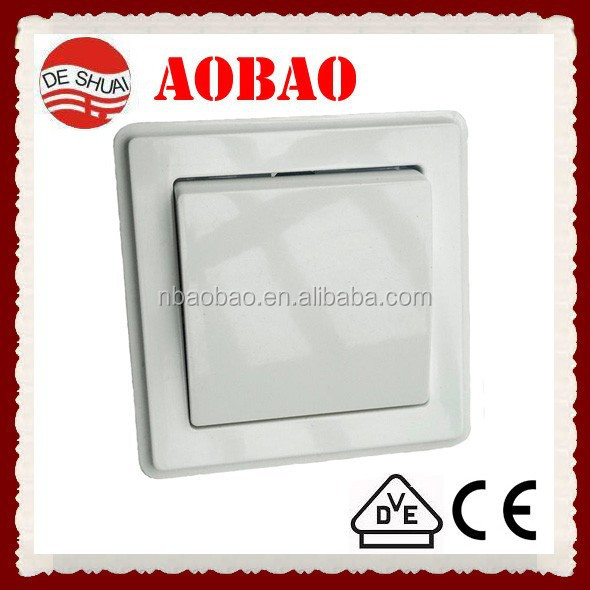 electric wall switch with VDE certificate Euro type