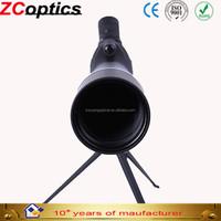 High quality spotting scope,Z-C optics,manufacturer wholesale,zoom monocular 20-60x80