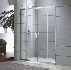 Zhiloong toughened glass shower screens that defend bath screen partition high-end series model:ZL-D711