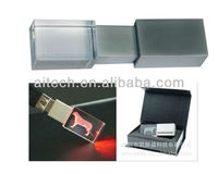 promotion of crystal usb flash drives
