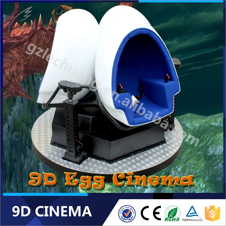 Hot Sale!!!Newest Game Machine 360 VR Glasses 3 Dof Patented Design 9D Egg Virtual Reality Simulator