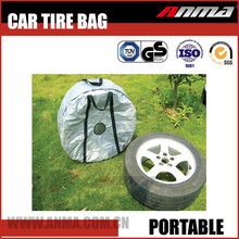 Durable car spare tire covers portable car tyre storage bag wheel bag