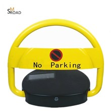 SOLAR KEY REMOTE LOCKS automatic parking barrier space blocker car parking lift lock / parking space protector