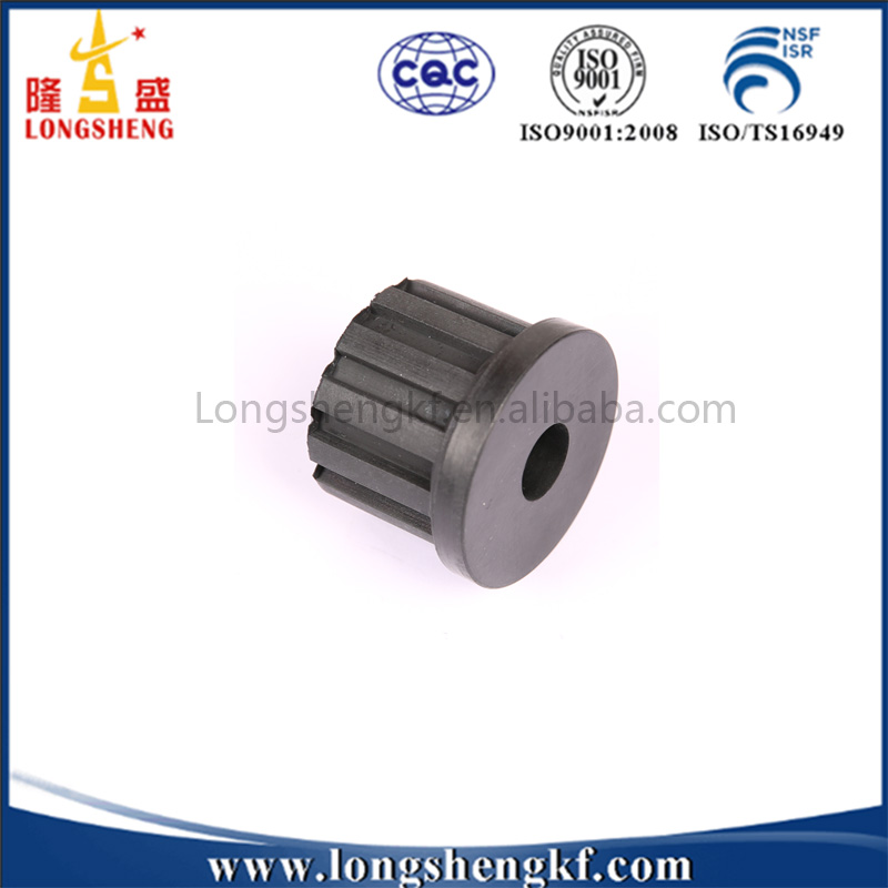 Customized Cylinder Shaped Solid Rubber Block Bush
