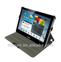 Smart Leather Cover Case Stand for Samsung Galaxy Tab 2 10.1 P5100 P5110,Black