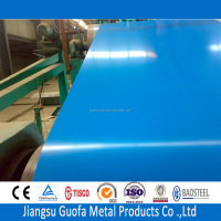 Prepainted Blue Color Coated H24 5083 2mm Thick Aluminum Sheet For Roofing