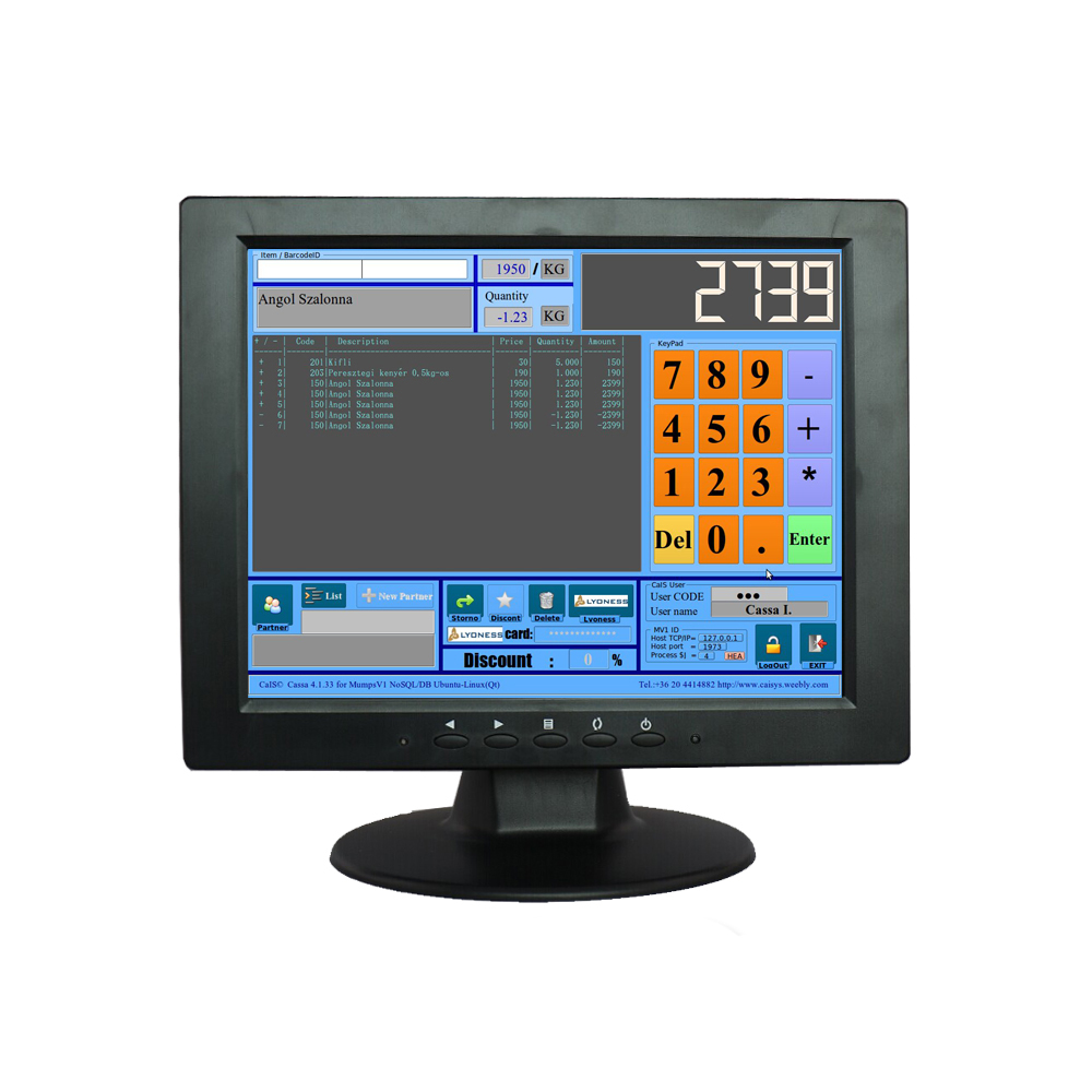 Alibaba wholesale square TFT color LCD 10.4 inch monitor