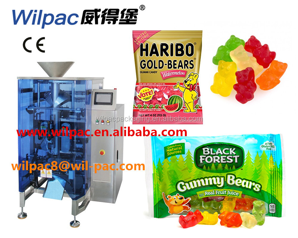 Low price gummy candy/bear packing machine