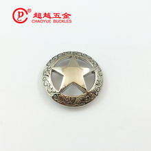 Factory Directly hot Sale wholesale crystal Star conchos