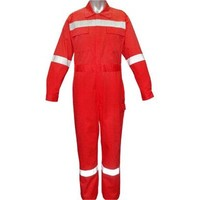 workmans aramid fiber heated FR offshore coverall