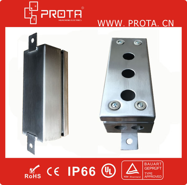 Waterproof Outdoor Stainless Steel Cable Junction Box IP66