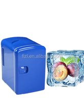 4L mini dc 12v car portable fridge,travel cooler box and Warmer box,car cooler box 12v
