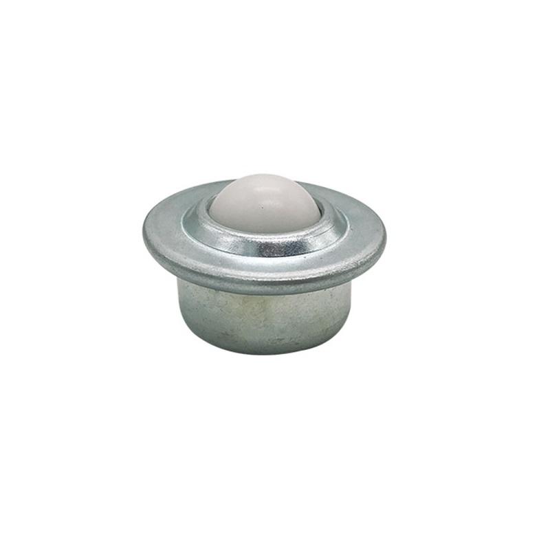 no logo Ball Casters CY-22H N N 22MM Nylon Plastic Ball Steel Shell Stud Mount Ball Transfer Unit Load Capacity 30//40kgs Transfer Ball Bearing Ball Industrial Casters Size : CY 22H