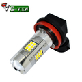 G-View New 27SMD 3030 Super Brightness Auto Parts H8/H11/H16 Car Led Fog Light