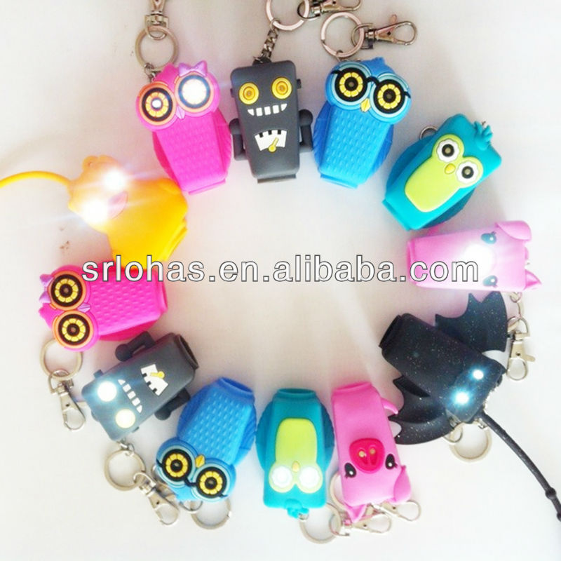 LED hand sanitizer pocketbac holders Glow in the dark