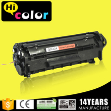 12A toner cartridge for hp 1010 1018 1022 laser printers with air bag