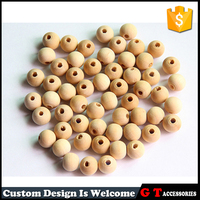 Wholesale Natural Unfinished Wood Beads Wooden