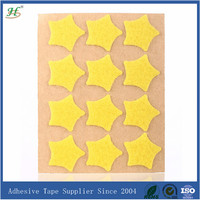 Low price star-shaped self adhesive 3m magic tape
