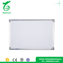Durable material small whiteboard size matte glass whiteboard