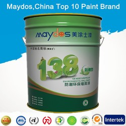 stain resistance exterior flat latex paint