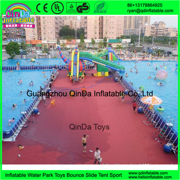 Guangzhou qinda rectangular above ground swimming pool for Buying an above ground pool guide
