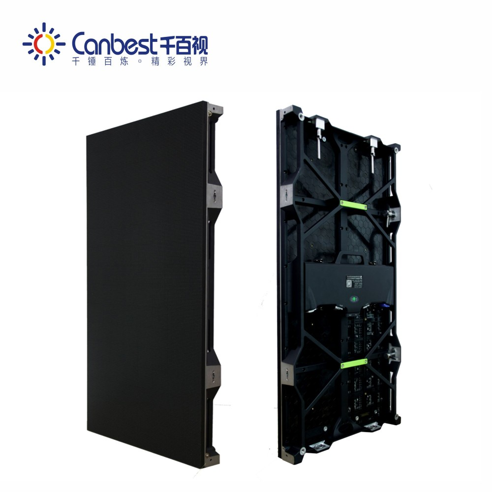 P3.9 energy saving advertising led display screen of indoor rental