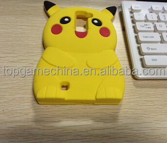 Pikachue Cartoon Design Phone Case for LG K7 <strong>K10</strong> 3D Soft Silicone Cover