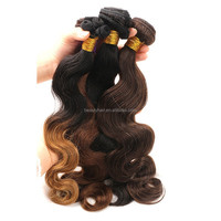 6A Malaysian Burgundy Ombre Hair Extensions 3pcs Mink Virgin Hair Malaysian Body Wave 1B 99j Red Burgundy Ombre Human Hair Weave