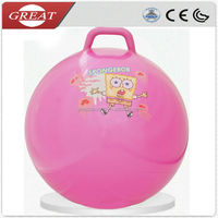 2014hot selling inflatable toy skee ball jumping ball pink hopper ball for children