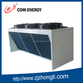 Refrigeration and air cooled condenser for cold room