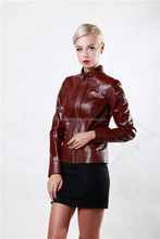 Waterproof Winter Leather Fur Jacket Coat Women