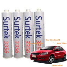 medium and high grade no solvent vehicle aftermarket auto glass pu adhesive sealant