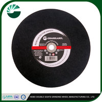 silicon carbide grinding wheel resin cutting wheel for wood , metal