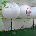 Stand inflatable tripod balloon with led lighting for outdoor advertising