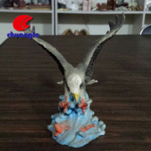 Antique eagle resin sculpture, animal resin sculpture