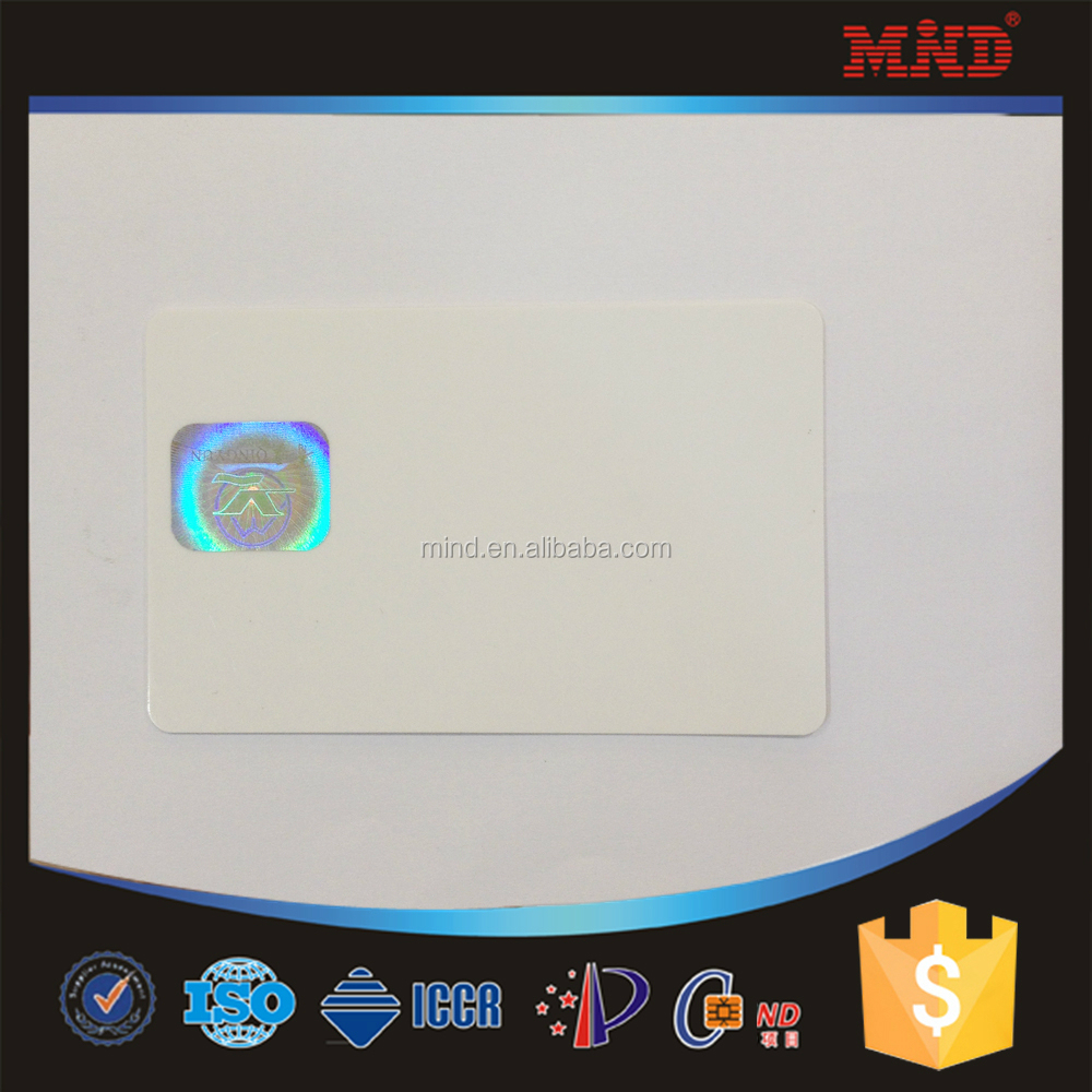 MDH09 Hologram stamping plastic business card, smart rfid card with S50/ S70 chip