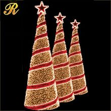 2017 New christmas tree decoration artificial giant led lighted christmas xmas tree outdoor types of decorative