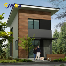 (WAD4002-45S)China Two Storey Modern Prefabricate Houses/ Shed/ Living Office Building