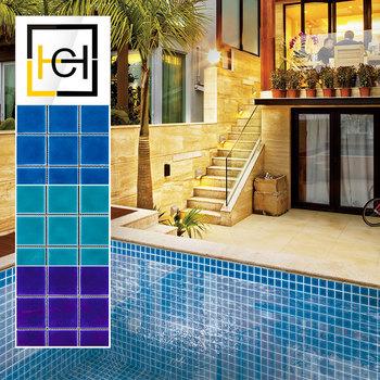 decorative square blue swimming pool mosaic tiles low price blue ceramic  mosaic tiles for swimming pool foshan, View decorative square blue swimming  ...