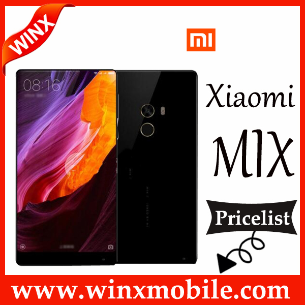 Newest! Original Mi MIX 6GB RAM + 256GB ROM Black Full-Ceramic Body 4G Mobile Phone